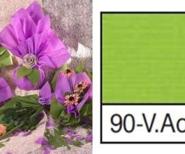 BOBINA CARTOPAK 1,00X40MT VERDE ACIDO 90