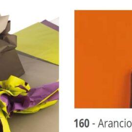 BOBINA DOUBLE FONDO PIENO 40MY H100X40MT ARANCIO/CIOCCOLATO
