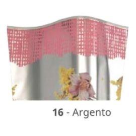 CONI MIMOSA ARGENTATI STAMPATI 35MY ORCHIDEA CM 21X8X40 100PZ