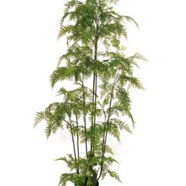 PIANTA FINTA BOSTON FERN TREE RUBBER VERDE CM 150