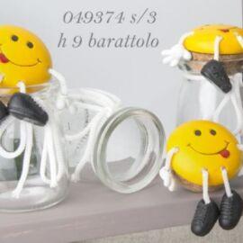 SMILE BARATTOLO PIEDI H 9 CM AL PZ