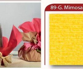 BOBINA CARTOPAK 1,00X40MT GIALLO MIMOSA (89)