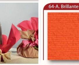 BOBINA CARTOPAK 1,00X40MT ARANCIO BRILLANTE (64)
