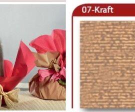 BOBINA CARTOPAK 1,00X40MT KRAFT (07)
