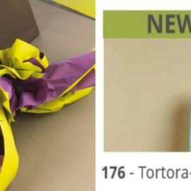 BOBINA DOUBLE FONDO PIENO 40MY H100X40MT (176) TORTORA/AZZURRO