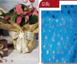 BOBINA STARRY DOUBLE 35MY 1,00X25MT BLU