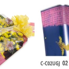 CONI MIMOSA ARGENTATI ORCHIDEA 35MY CM 17X8X30 100PZ BLU