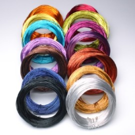 ALUMINIUM WIRE OASIS 100GR.X2MM LILAC
