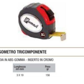FLESSOMETRO TRICOMPONENTE MM3X16