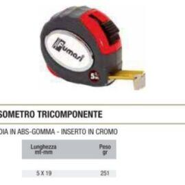 FLESSOMETRO TRICOMPONENTE MM5X19