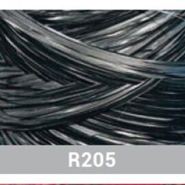 POLYRAFIA 2 LATI 15MMX200MT R205 ARGENTO/NERO