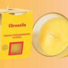 BICCHIERE CITRONELLA D.7 CM AL PZ