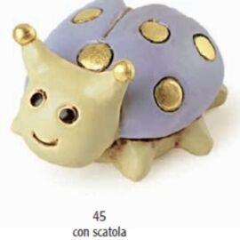 COCCINELLA LILLA MM 45 CON SCATOLA