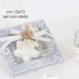 SET GESSO CON STELLA CM 10X10 AL PZ