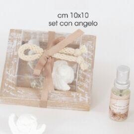 SET GESSO CON ANGELO CM 10X10 AL PZ