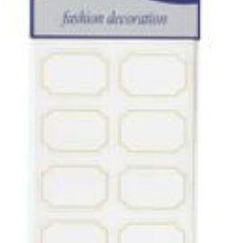 ETICHETTE ADESIVE MM 30X45 (48PZ) BIANCO