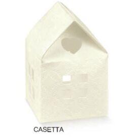 SCATOLA CASETTA MM 55X55X80 MATALESSE BIANCO AL PZ