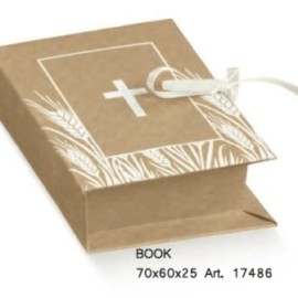 SCATOLA BOOK MM 70X60X25 CROCE AVANA AL PZ