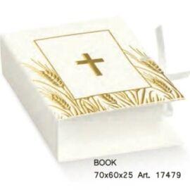 SCATOLA BOOK MM 70X60X25 CROCE BIANCA AL PZ