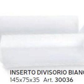INSERTO DIVISORIO MM 145X75X35 BIANCO