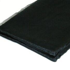 TELO ORGANZA CM 145X3MT BLACK