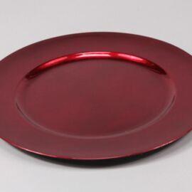 PIATTO PLASTICA D. 33 RED