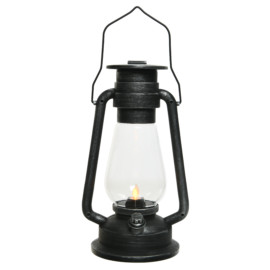 LANTERNA  DA CAMPO LED FLAME CM 14X17,5XH30