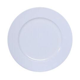 PIATTO PLASTICA D. 33 CM WHITE