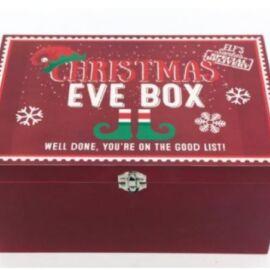 BAULETTO XMAS EVE BOX WITH LID 20X30CM