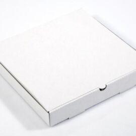SCATOLA PIZZA CON COPERCHIO CM 26,5X26,5H3 STAMPATA PZ 150 AL PZ