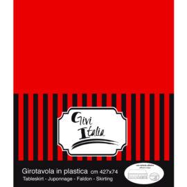 GIROTAVOLA  ROSSO  PEVA CM 427X4