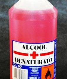 ALCOOL DENATURATO 1000ML