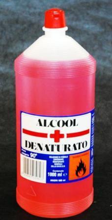 ALCOOL DENATURATO 1000ML
