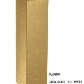 SCATOLA MAGNUM MM 115X115X430 SFERE ORO