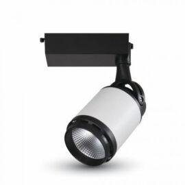 35W LED TRACK LIGHT BLACK/ WHITE BODY 3000K