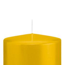 CANDELA A MOCCOLO MM 100XH100 AL PZ giallo