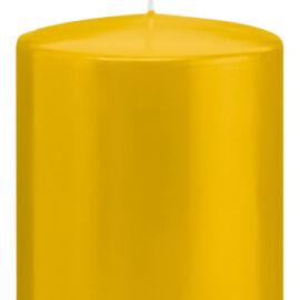 CANDELA A MOCCOLO MM 100XH150 AL PZ giallo