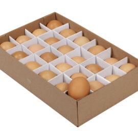 BOX UOVA NATURALI 24 PZ CM 6