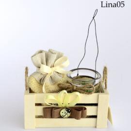 CASSETTA CON PIANTINA IN LANTERNA (CM 12XH.11) LINA