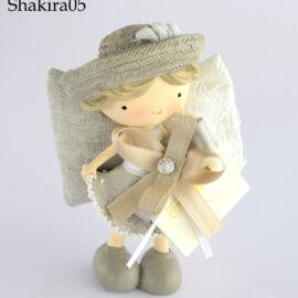 FARFALLA CON BIMBA (H. 13,5) SHAKIRA