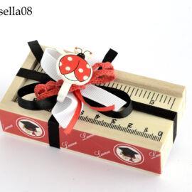 BOX RIGHELLO LEGNO (CM 10XH.3) GISELLA