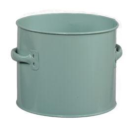 CONTENITORE IN METALLO GREEN D.16,5X13,5 CM