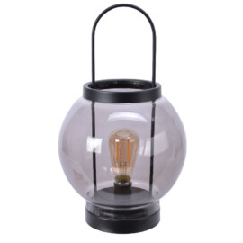 LAMPADA VETRO CON LED WHITE CM 20X33,5