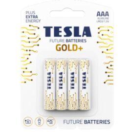 BATTERIA TESLA AA GOLD/MINI STILO GOLD+ALKALINE BLISTER 4PZ