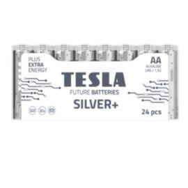 BATTERIA TESLA SILVER/STILO SILVER+ ALKALINE FOIL 24PZ