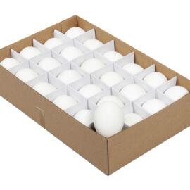 BOX UOVA BIANCHE 24 PZ CM 6