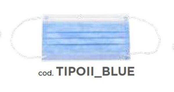 MASCHERINA CHIRURGICA BLUE  AL PZ