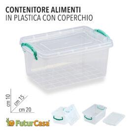 CONTENITORE ALIMENTI PL C/COP. E501 20X15X10 CM 1366