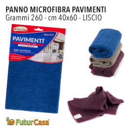 AG PANNO MICROFIBRA PAVIMENTO LISCIO 40X60 CM 260GR 3424