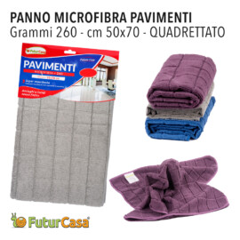 AI PANNO MICROFIBRA PAVIMENTO QUADRETT. 50X60 CM 260GR 3417